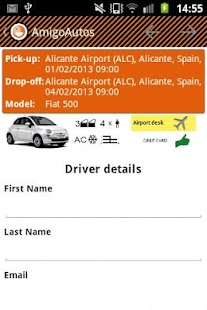 AmigoAutos Car Hire - screenshot thumbnail
