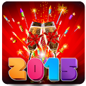 New Year Fireworks 2015 LWP icon