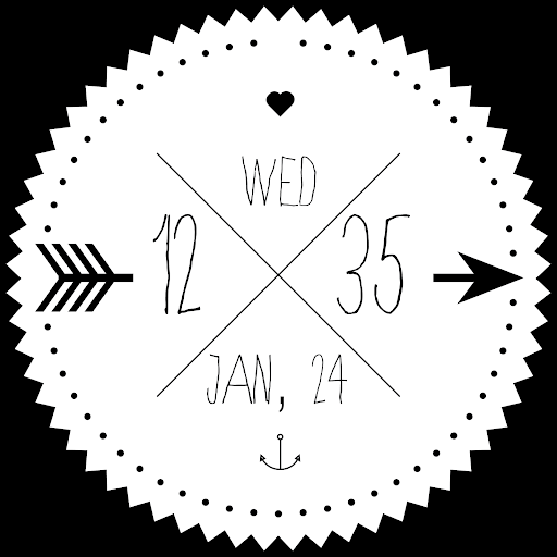 Skinny Love Watch Face