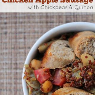 Chicken Apple Sausage with Chickpeas & Quinoa