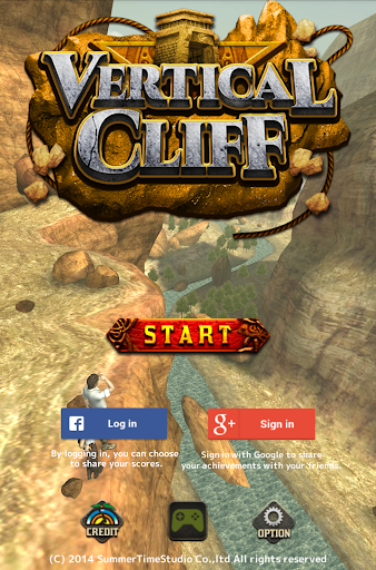 Vertical Cliff