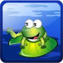 抓青蛙 logo