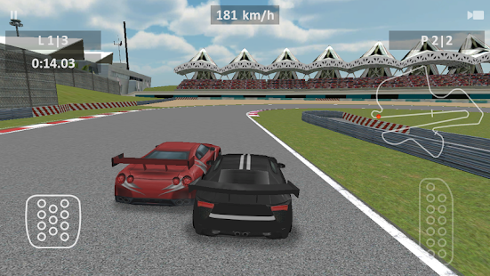 Race Track 3D preview - screenshot thumbnail