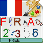 French Alphabet –Write, Free