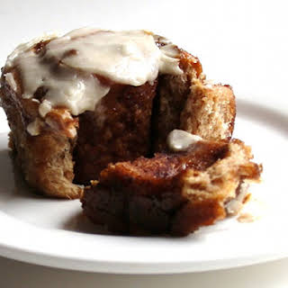King Arthur Flour's Dark and Dangerous Cinnamon Buns.