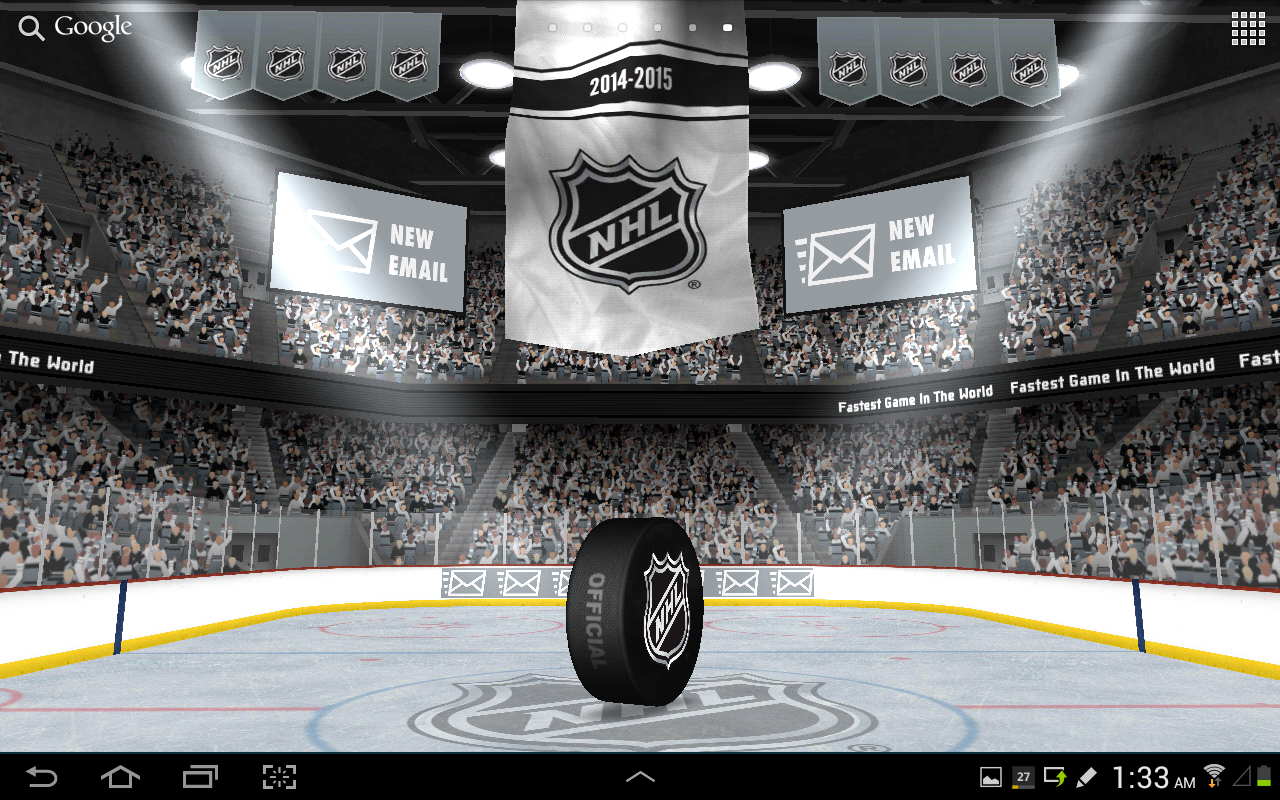 NHL 2015 Live Wallpaper- screenshot