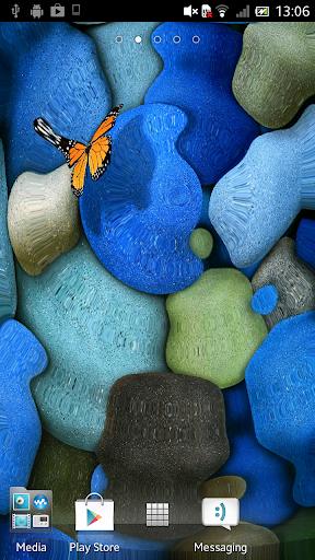 Stones in water Live Wallpaper