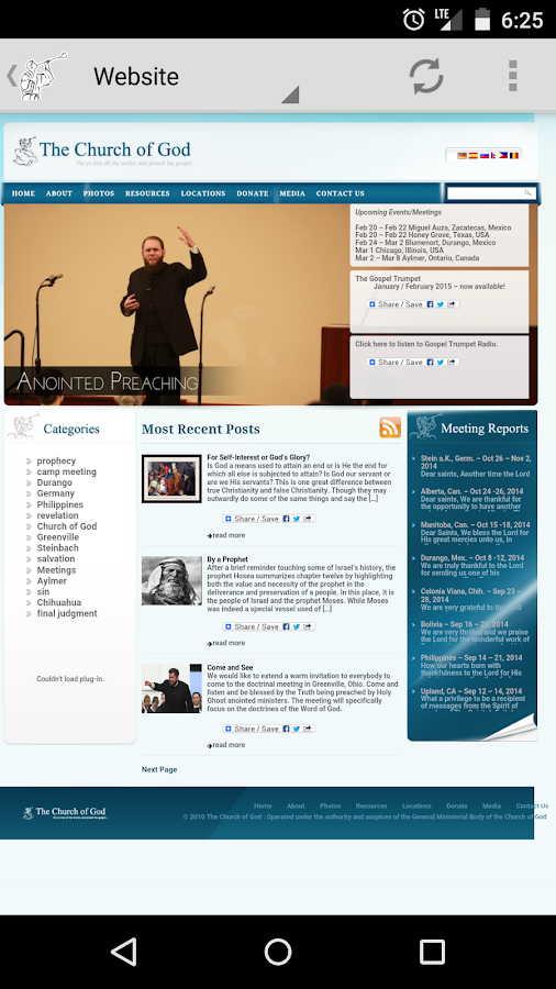 Gospel Trumpet Radio- screenshot