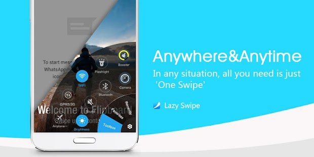 Mobile Start Menu App : Lazy Swipe
