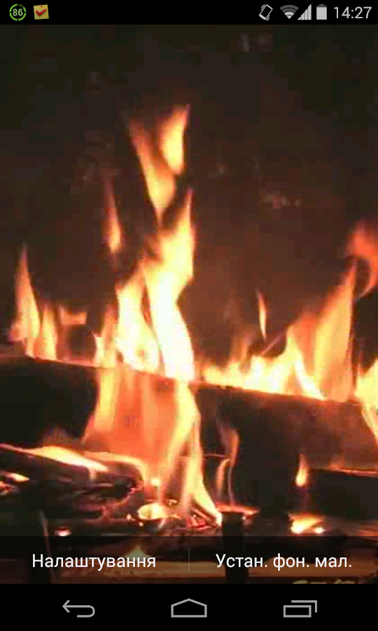 Fireplace Video Live Wallpaper- screenshot