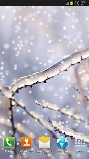 Snow live wallpaper DEMO
