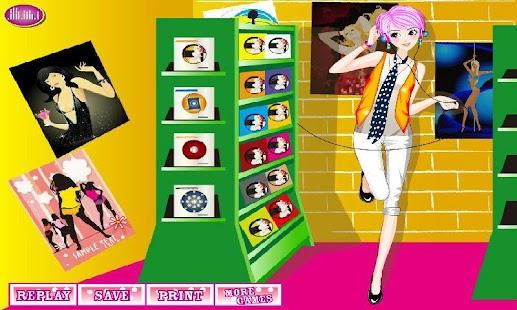 CD Shop girl
