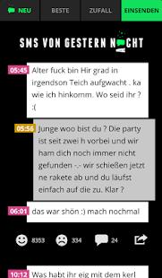 SMS VON GESTERN NACHT - screenshot thumbnail