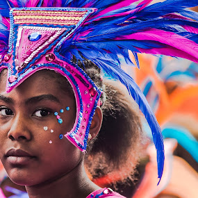 Carnival Queen by Nicola Scarselli - People Portraits of Women