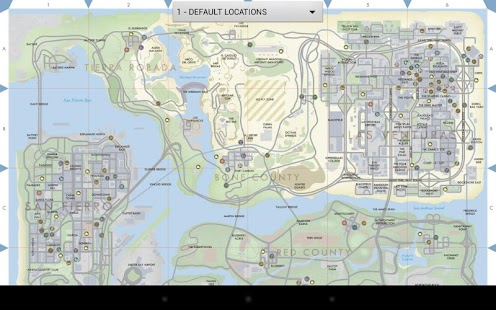 GTA San Andreas Map Unofficial - screenshot thumbnail