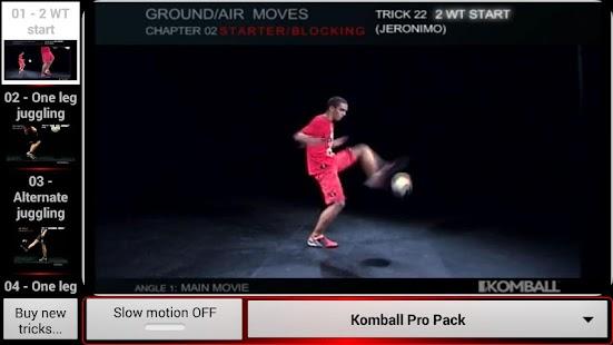 Komball Freestyle Football