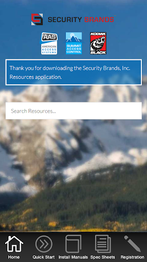 Security Brands Resources