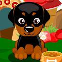 Cute Dog Training mobile app icon