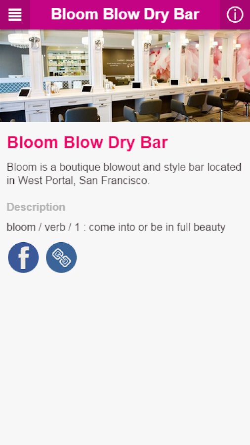 Bloom Blow Dry Bar- screenshot