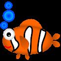 TamaWidget Fish *AdSupported* logo