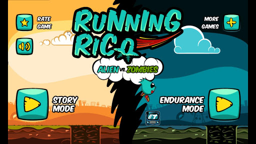 玩街機App|Running Rico: Alien vs Zombies免費|APP試玩