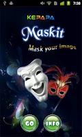 Screenshot of MaskIt