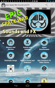 Epic Space War Sounds and FX - screenshot thumbnail