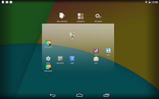Screenshot of KitKat Launcher