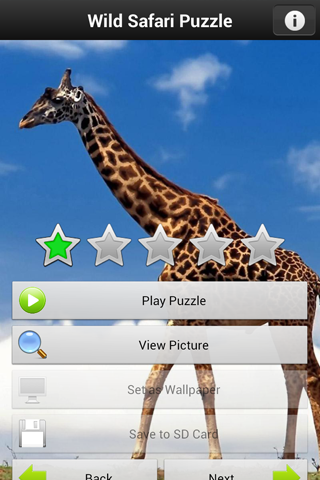 Safari World Puzzle Game for PC