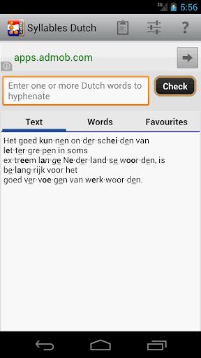Syllables Dutch