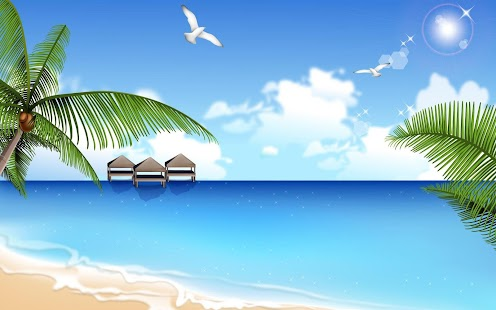 Free Beach Wallpaper HD - screenshot thumbnail