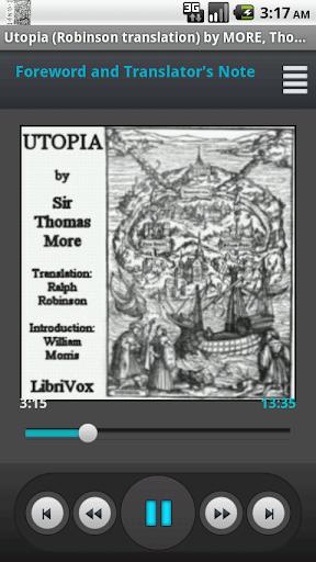 Utopia T. More Audio Book