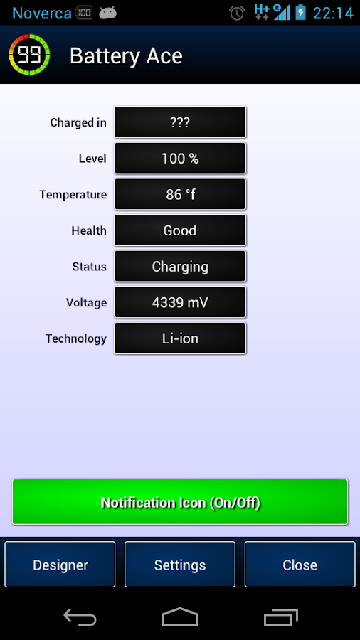 Battery Ace - screenshot
