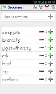 Shared Shopping List screenshot 1