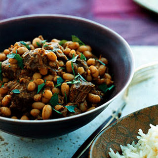 Lebanese Lamb and Bean Stew.