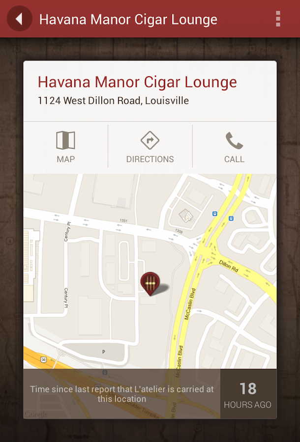 Cigar Finder - screenshot