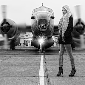 The Runway by John Phielix - Black & White Portraits & People (  )