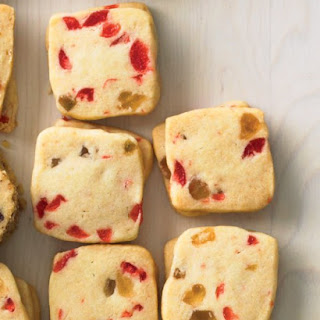 Candied-Fruit Squares.