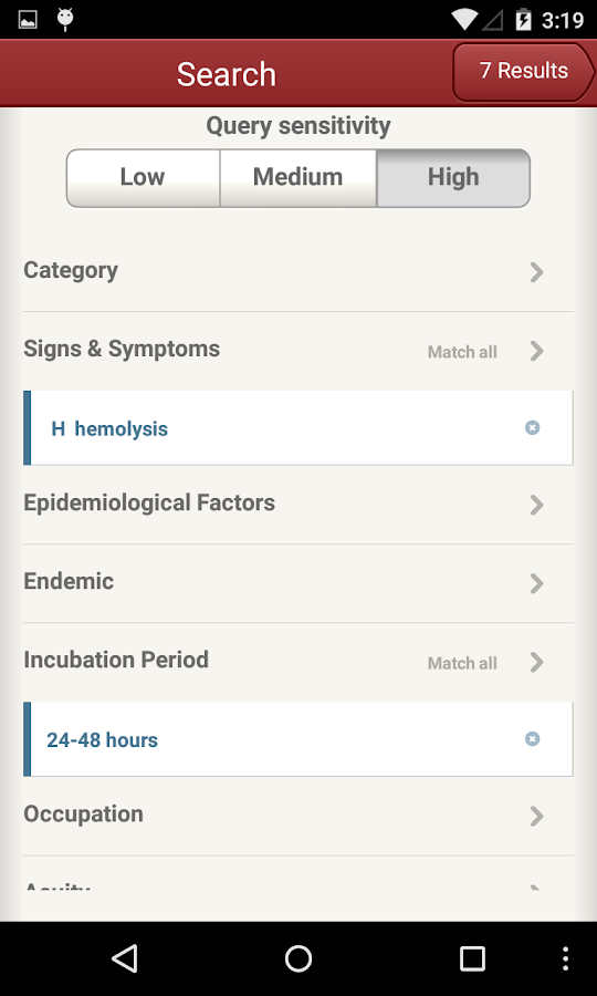 IDdx: Infectious Diseases- screenshot