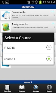 World University -Moodle acces - screenshot thumbnail