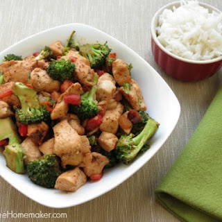 Chicken and Bacon Stir Fry.