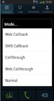 Screenshot of CallNow