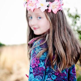 Looking Back by Louise Lacante - Babies & Children Child Portraits ( kids portrait,  )