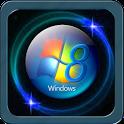 Stylish W 8 launcher pro icon