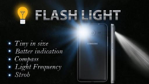 Flashlight with Compass