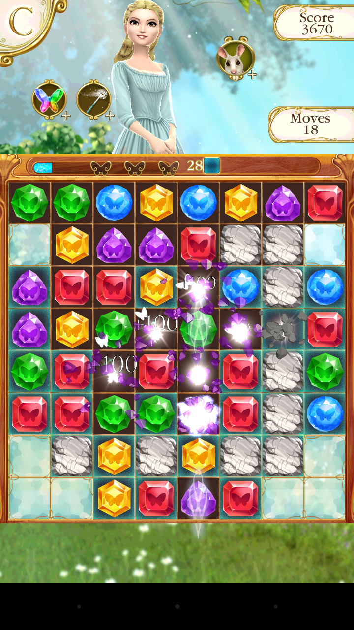Cinderella Free Fall screenshot #21