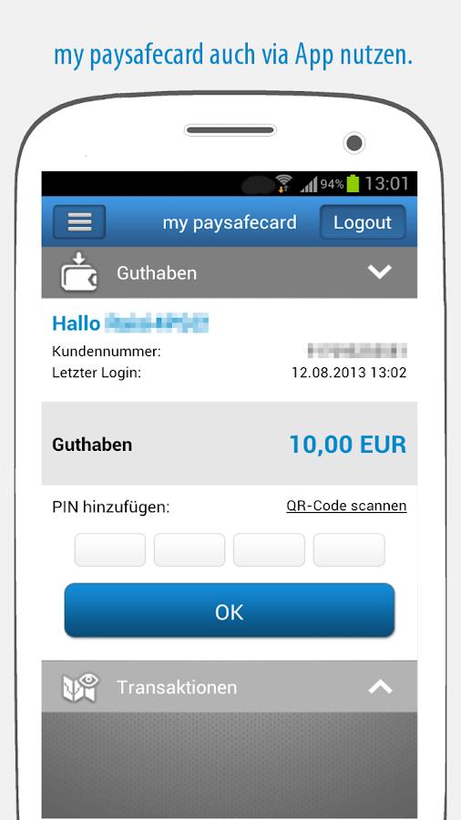 Paysafecard Im Play Store Einlösen