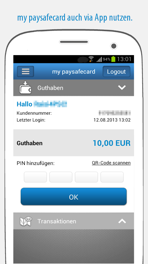 Paysafecard Einlösen Google Play