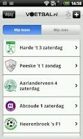 Screenshot of Voetbal.nl