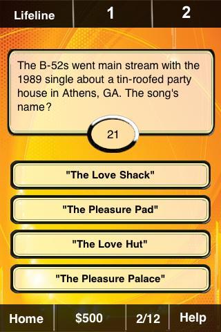 Big 80s FunBlast Trivia Quiz- screenshot